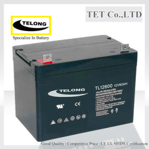 12V60ah AGM Storage Lead Acid Battery for Solar System pictures & photos