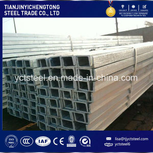 Steel C Channel ASTM GB DIN Q235 A36 Ss400 A235jr Grade pictures & photos