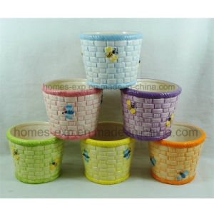 Popular Designs Home Decoration Graden Ceramics Flower Pots