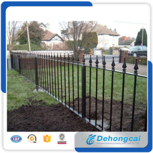 Rust-Proof/Antiseptic/ Security Steel Fence for Outdoor/ Wrought Iron Garden Fencing pictures & photos