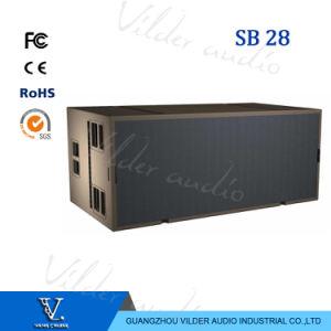Sb28 High-Power Double 18′′ Line Array Bass Speaker Sub Woofer