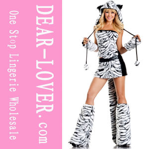 2016 Sexy Halloween Tiger Costume pictures & photos