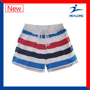 Healong Dye Fit Polyester Colorful Design Wholesale Running Shorts (Running pant) pictures & photos