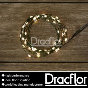 Sound-Absorbing PVC Tile Flooring (P-7209) pictures & photos