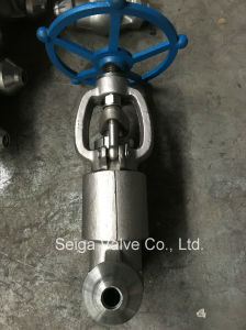 Forged Steel High Pressure Welding Stop Valve pictures & photos