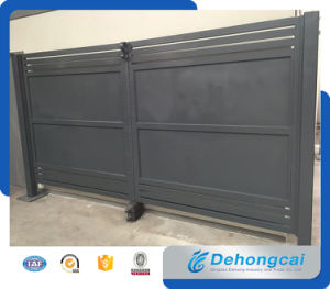 Europen Style Beautiful Economical Practical Residential Wrought Iron Gate (dhgate-3) pictures & photos
