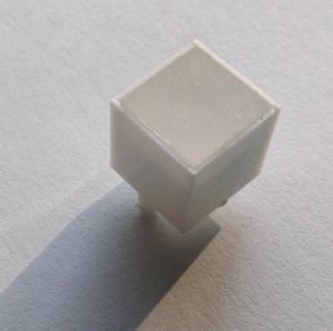 White Texture PC Plastic Parts for LED Light Box pictures & photos