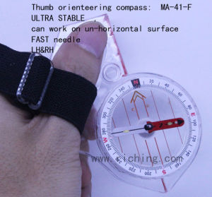 Kanpas Primary Thumb Orienteering Compass #MA-41-F pictures & photos
