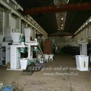 latest Model 200t/D Wheat Flour Roller Mill pictures & photos