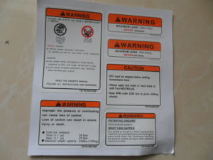 PVC Sticker, Wall Sticker, Vinyl Sticker, Logo, Decal pictures & photos