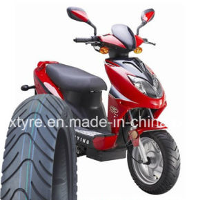 Scooter Tyre / Motorcycle Tyre (120/90-10TL, 130/90-10TL, 120/70-12 TL 130/70-12 TL) pictures & photos