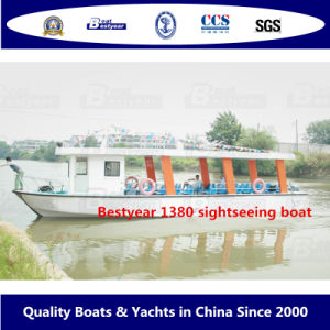Bestyear 1380 Sightseeing Boat pictures & photos