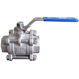 "1/4""-4"" 3-PC Stainless Steel Butt Welded Ball Valve"