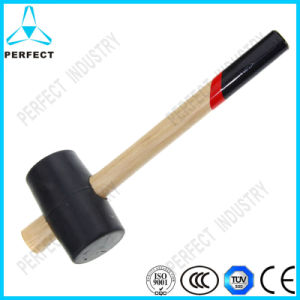 French Rubber Hammer with Wood Handle pictures & photos