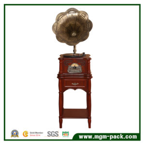 Wholesale Classical Wooden Phonograph with Horn pictures & photos