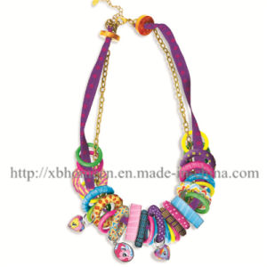Make Fashion Necklace Children Kids Educational Toy