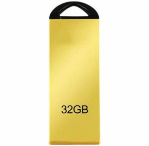 High quality Gold High USB Flash Drive 32GB Metal Waterproof Pen Drives Flash Card 8GB 16GB Car Key Memory Stick Gift U Disk pictures & photos