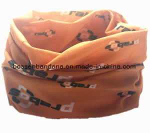 OEM Produce Customized Logo Printed Multifunctional Seamless Magic Buff Headwear Neck Tube pictures & photos