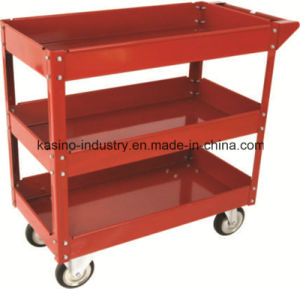 High Quality Three-Layer Service Trolley Cart (Low price) pictures & photos