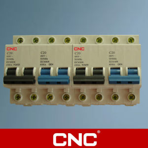 Ciruit Breaker C45 Type Mannual Thansfer Switch (MTS) pictures & photos