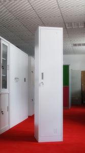 Single Door Steel Clothes Cabinet Hs-004