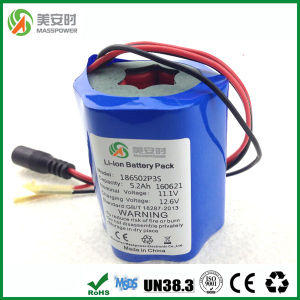Round Type 11.1V 5200mAh Battery