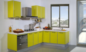 New Acrylic modern Design Kitchen Furniture (zv-026) pictures & photos