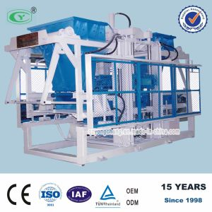 Concrete and Hollow Block Making Machinery (QT10-15A)