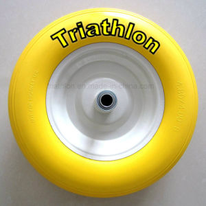 16X4.00-8 3.50-8 3.00-8 6.50-8 8.50-8 Wheelbarrow Solid Rubber Wheel pictures & photos