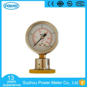 60mm 2.5′′ Stainless Steel Case Brass Connection Diaphragm Manometer pictures & photos