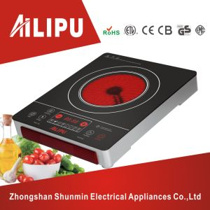 CE/CB Certificated Good Shape and Touch Screen Single Infrared Cooker/Infrared Stove/Ceramic Cooker pictures & photos