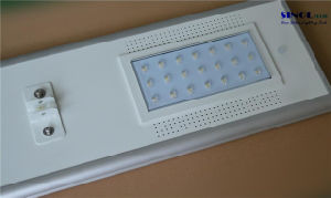 20W All in One Integrated Solar Street Light for Park Lighting (SNSTY-220) pictures & photos