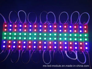 Hot Selling Us2811 12V 3LED Waterproof 5050 RGB LED Module pictures & photos