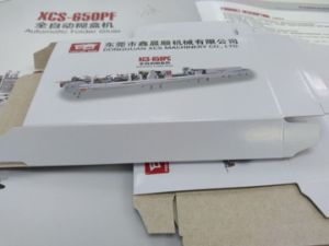 Xcs-650PF Paper Box Packing Folder Gluer pictures & photos