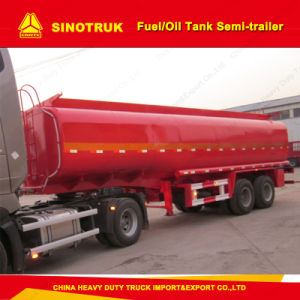 30m3 2 Axle Fuel/Oil Storage Tank Truck Semi Trailer pictures & photos