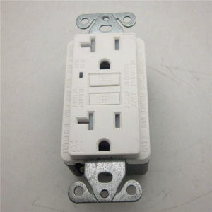 Good Service Ivory Electrical Plug Receptacles pictures & photos