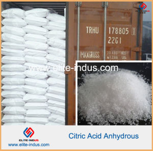 Food Additive Citric Acid Anhydrous (CAS: 77-92-9) pictures & photos