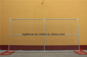 Temporary Fencing Panels 6FT X 12FT, 10FT, 14FT Mesh 2-3/8 Inch X 2-3-3/8 Inch Diameter 3.00mm pictures & photos