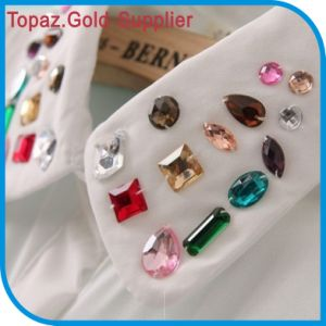 Sew on Acrylic Stones Sew on Crystal Rhinestone for Garment Accessories pictures & photos