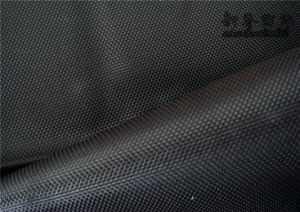 Polyester Oxford Fabric with PU Milky Coating pictures & photos