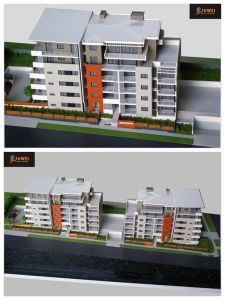 1: 100 Residential Building Scale Model (JW-214) pictures & photos
