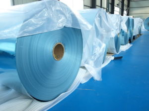 Hydrophilic Blue Aluminium Foil pictures & photos