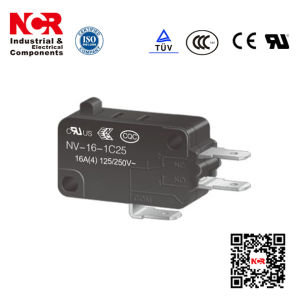 16A Micro Switch with RoHS UL (NV21/NV-16) pictures & photos