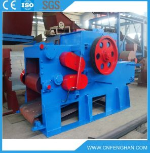 18-20t/H Electric Wood Log Drum Chipper Machine for Sale pictures & photos