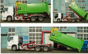 HOWO Hook Lift Truck (QDZ5252ZXXZH) pictures & photos