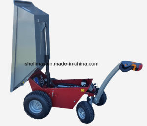 500kg Electrical Wheel Barrow Heavy Duty EU Standard pictures & photos