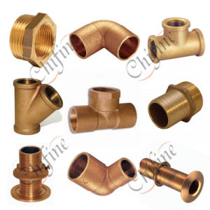 OEM Service Bronze and Brass Pipe Fittings pictures & photos