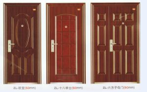 High Quality Customized Steel Door pictures & photos