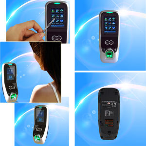 Fingerprint and Face Recognition Time Attendance with Access Control (Multibio700) pictures & photos