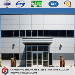 Sinoacme Prefabricated Light Steel Frame Office Building pictures & photos